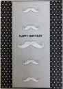 Mustaches - Happy Birthday